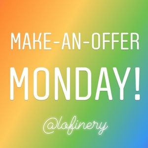 Make-An-Offer Mondays!